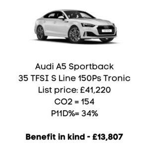 barnett-ravenscroft-audi-a5-benefit-in-kind-electric-car